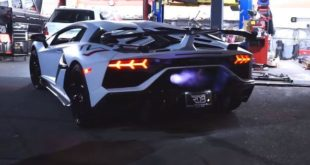 Lamborghini Aventador SVJ Tuning 310x165 Video: The Ultimate Tire Slaying Tour   GYMKHANA TEN ist online
