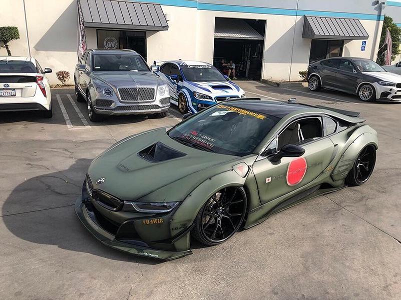 Liberty Walk Widebody Bmw I8 Airride Savini Foil 10 Tuningblog