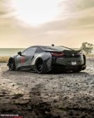 Liberty Walk Widebody BMW i8 Airride Savini Folierung 2 135x169 Ultrafett: Liberty Walk Widebody BMW i8 mit Airride Fahrwerk