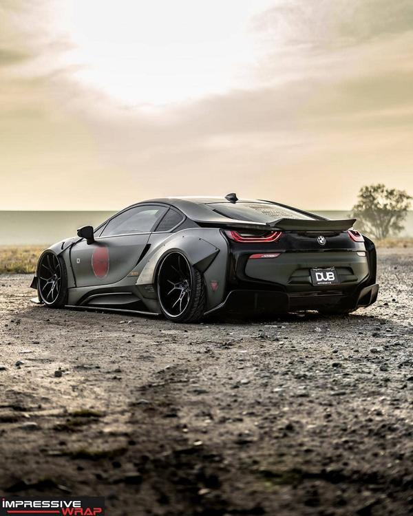 Ultrafett Liberty Walk Widebody Bmw I8 With Airride Suspension