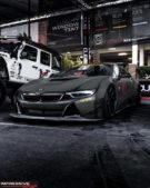 Liberty Walk Widebody BMW i8 Airride Savini Folierung 20 135x169 Ultrafett: Liberty Walk Widebody BMW i8 mit Airride Fahrwerk