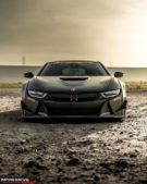 Liberty Walk Widebody BMW i8 Airride Savini Folierung 30 135x169 Ultrafett: Liberty Walk Widebody BMW i8 mit Airride Fahrwerk