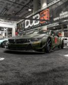 Liberty Walk Widebody BMW i8 Airride Savini Folierung 33 135x169 Ultrafett: Liberty Walk Widebody BMW i8 mit Airride Fahrwerk