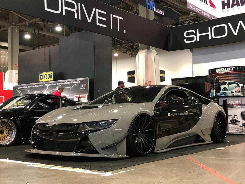 Liberty Walk Widebody Bmw I8 Airride Savini Foil 36 Tuningblog