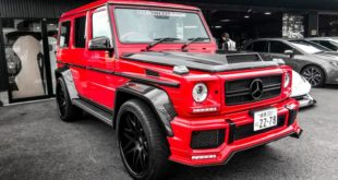 Liberty Walk Widebody Mercedes G63 AMG W463 Tuning 1 1 e1545205091787 310x165 Tokyo Auto Salon: Widebody Ferrari 308 GTB by Liberty Walk