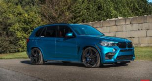 Long Beach blue BMW X5M F85 Vossen HF 1 Felgen Tuning 13 310x165 Dodge Challenger SRT Widebody auf Vossen ERA 3 Alus
