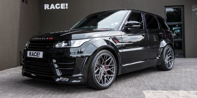 Lumma Clr Rs Widebody Range Rover Sport By Race