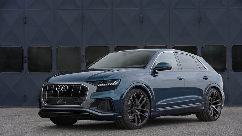 Lumma Clr Racing Rims In 22 Inches On The Audi Q8 Suv