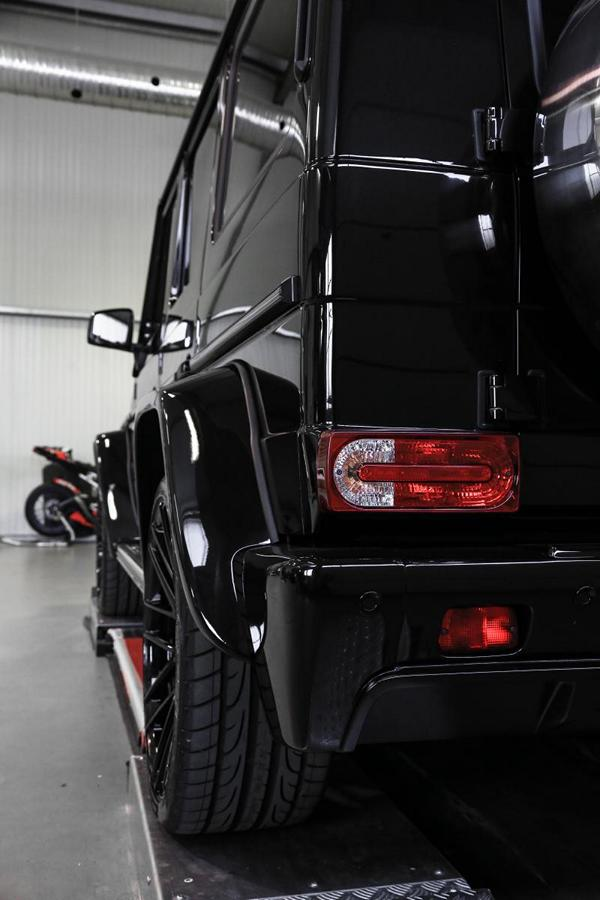 MD Exclusive Cardesign Mercedes G350d Prior Design Widebody Tuning 3 Black Label   M&D Exclusive Cardesign Mercedes G350d