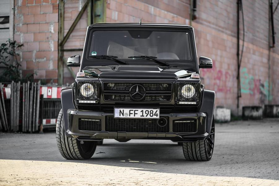 MD Exclusive Cardesign Mercedes G350d Prior Design Widebody Tuning 4 Black Label   M&D Exclusive Cardesign Mercedes G350d