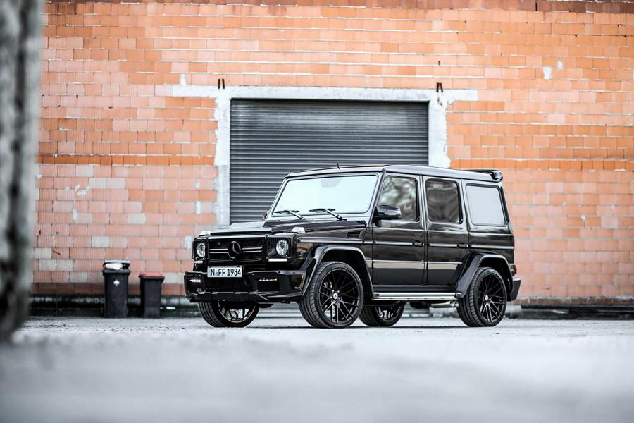 MD Exclusive Cardesign Mercedes G350d Prior Design Widebody Tuning 5 Black Label   M&D Exclusive Cardesign Mercedes G350d