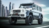 """Mercedes G BRABUS 700 4x4² one of ten Final Edition Tuning 1 190x110 Mercedes G   BRABUS 700 4x4² """"one of ten"""" Final Edition"""