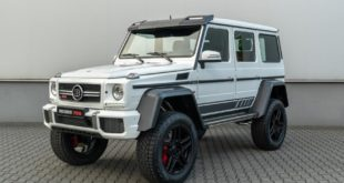Mercedes G BRABUS 700 4x4%C2%B2 one of ten Final Edition Tuning 10 310x165 BRABUS Classic: Breite Palette von restaurierten Mercedes Oldtimern