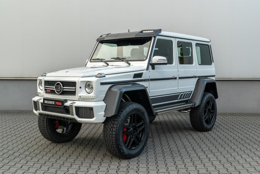 """Mercedes G BRABUS 700 4x4² one of ten Final Edition Tuning 10 Mercedes G   BRABUS 700 4x4² """"one of ten"""" Final Edition"""