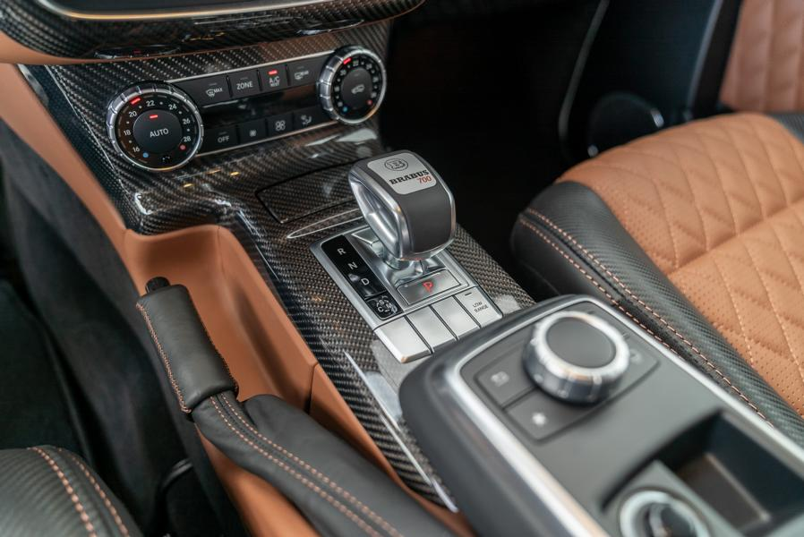 """Mercedes G BRABUS 700 4x4² one of ten Final Edition Tuning 14 Mercedes G   BRABUS 700 4x4² """"one of ten"""" Final Edition"""