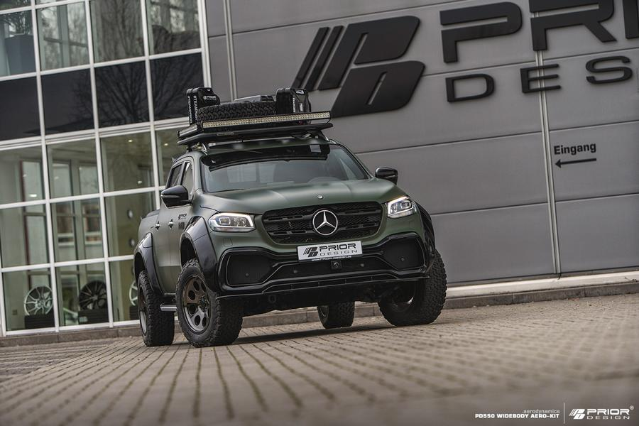 Mercedes X Klasse W470 Prior Design PD550 Bodykit Tuning 2 Mercedes X Klasse (W470) mit Prior Design PD550 Bodykit