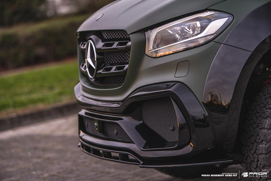 Mercedes X Klasse W470 Prior Design PD550 Bodykit Tuning 6 Mercedes X Klasse (W470) mit Prior Design PD550 Bodykit