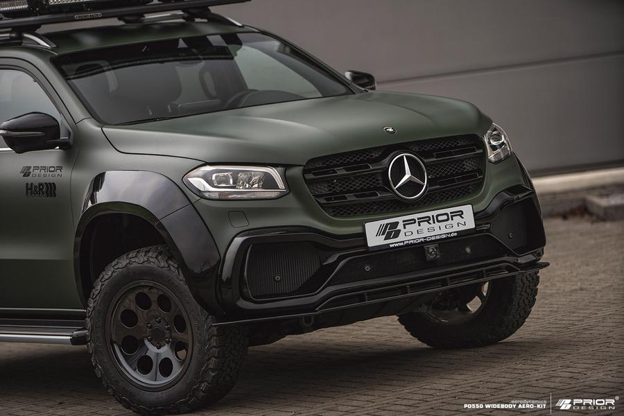Mercedes X Klasse W470 Prior Design PD550 Bodykit Tuning 8 Mercedes X Klasse (W470) mit Prior Design PD550 Bodykit