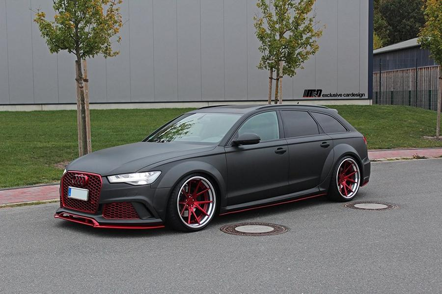 PD600R Widebody Audi A6 Rennen Forged R55 Tuning Prior 1 Full House: PD600R Widebody Audi A6 auf 21 Zöllern