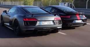 Porsche 9ff F91 100 vs. Klasen Audi R8 V10 plus 310x165 Video: Porsche 9ff F91 100 vs. Klasen Audi R8 V10 plus