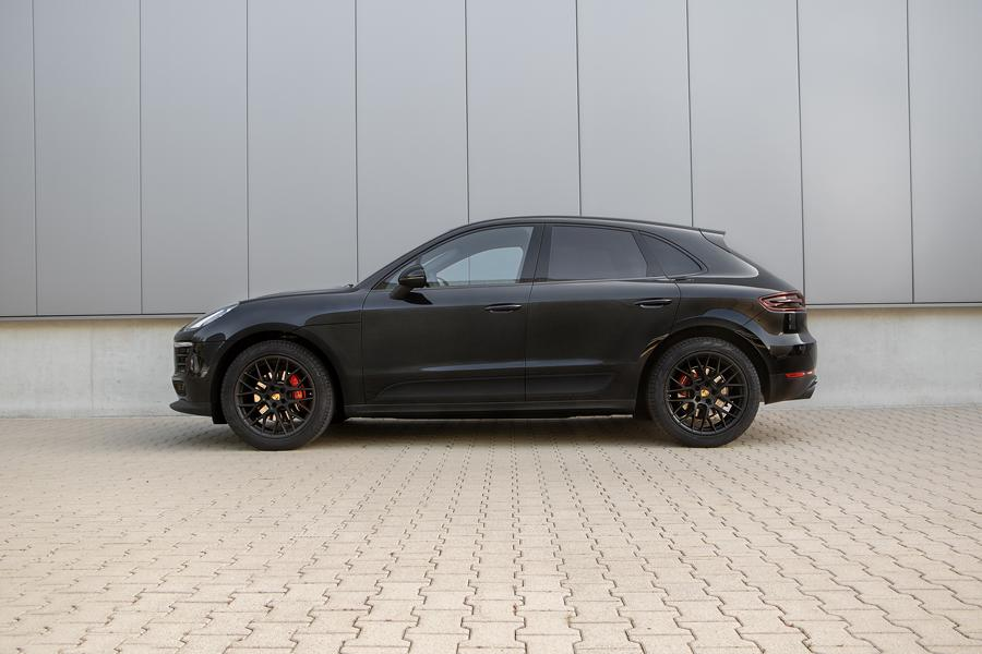 Porsche Macan Sportfedern Seite Mehr Dynamic trotz Downsizing: H&R Sportfedern auch für die Porsche Macan 4 Zylinder Modelle