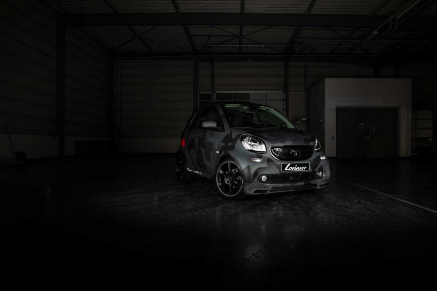 Smart ForTwo UNHIDE EMS Tuning 2018 Sportservice Lorinser 1 Toll! Smart ForTwo UN/HIDE von Sportservice Lorinser