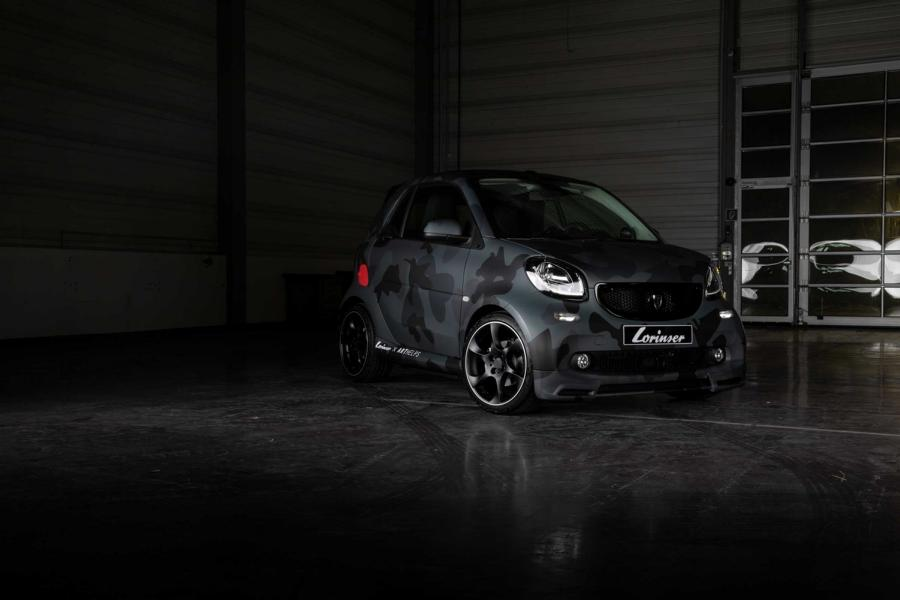 Smart ForTwo UNHIDE EMS Tuning 2018 Sportservice Lorinser 2 Toll! Smart ForTwo UN/HIDE von Sportservice Lorinser