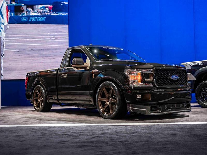 SpeedKore Ford F 150 Carbon Brantley Gilbert HRE TR105 Tuning 18 Go down! SpeedKore Ford F 150 mit 700 PS & Tieferlegung