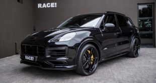 TECHART Porsche Cayenne Turbo Tuning Bodykit Auspuff Carbon 1 310x165 Perfekt: ADV.1 Wheels am Mercedes CLK63 Black Series