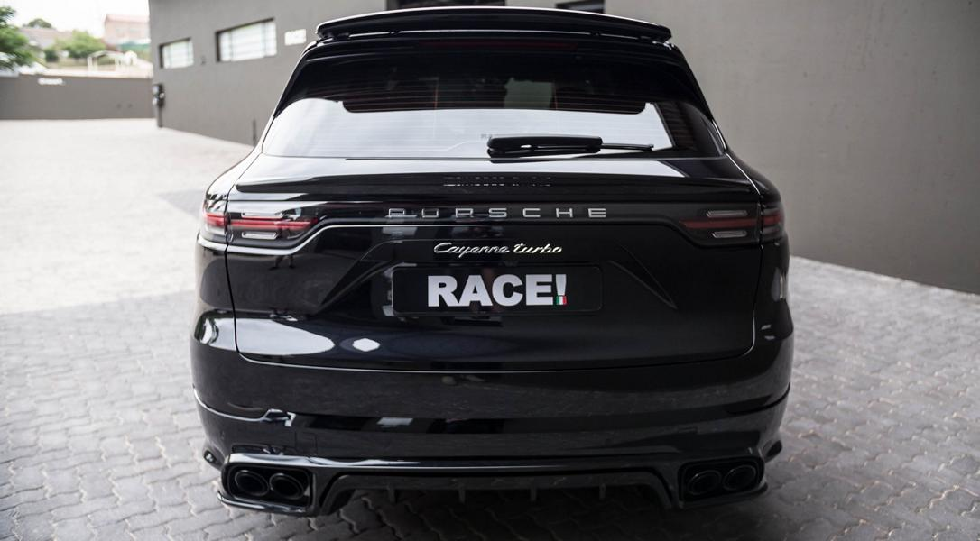 TECHART Porsche Cayenne Turbo Tuning Bodykit Auspuff Carbon 14 TECHART Porsche Cayenne Turbo by RACE! South Africa