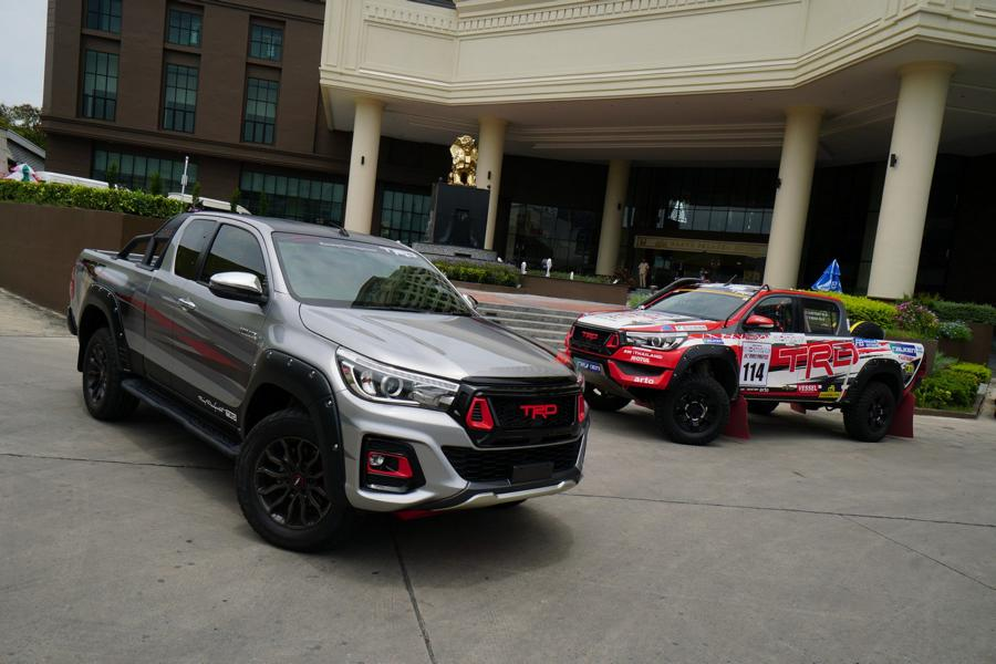 TRD Tuningparts 2019 Toyota Hilux Black Rally Edition 1 TRD Tuningparts am 2019 Toyota Hilux Black Rally Edition