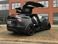 Tesla Model X 21 Zoll WCL Spider Felgen Tuning 4 190x143 Winterfit   Tesla Model X auf 21 Zoll WCL Spider Felgen