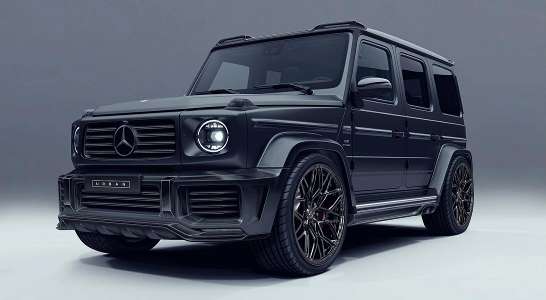 Urban Automotive Mercedes G63 AMG W463 Bodykit Tuning 2 Vorschau: Urban Automotive Mercedes G63 AMG (W463)