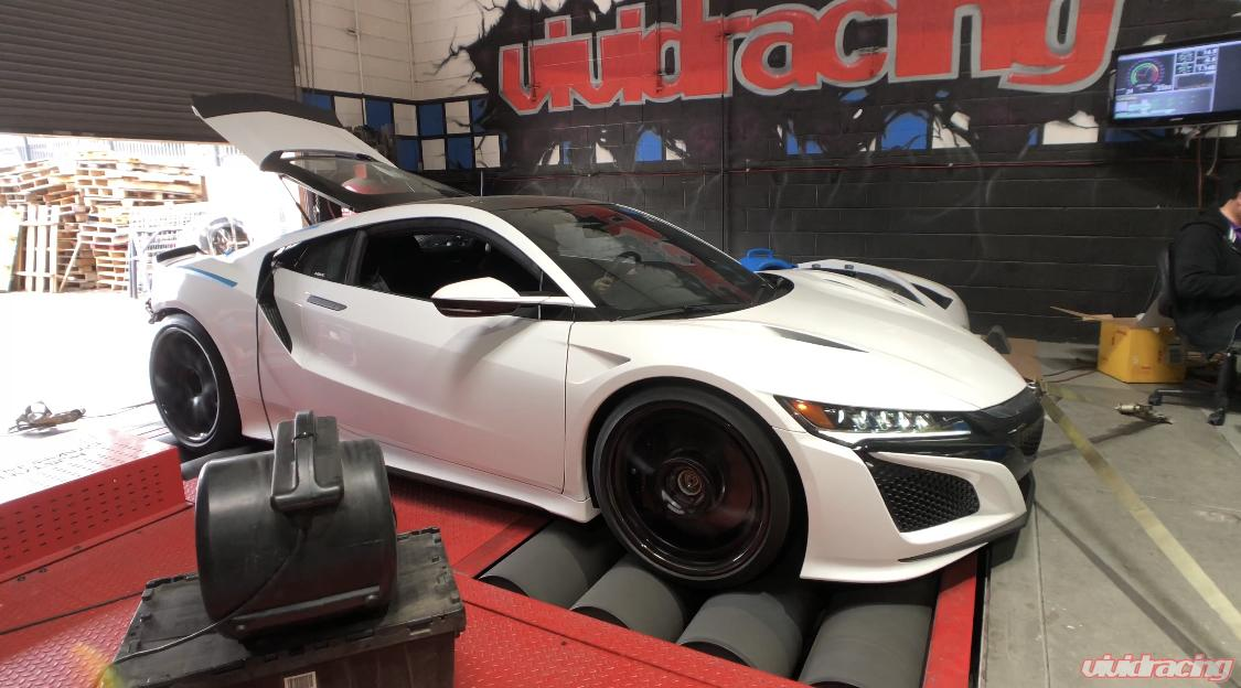 Video: 686 PS / 811 NM im Vivid Racing Acura NSX mit Chiptuning