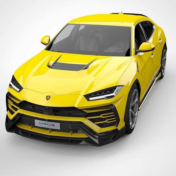 Vorsteiner Carbon Motorhaube Lamborghini Urus Tuning 2019 Vorschau: Vorsteiner UX 07 Carbon Bodykit am Lamborghini Urus