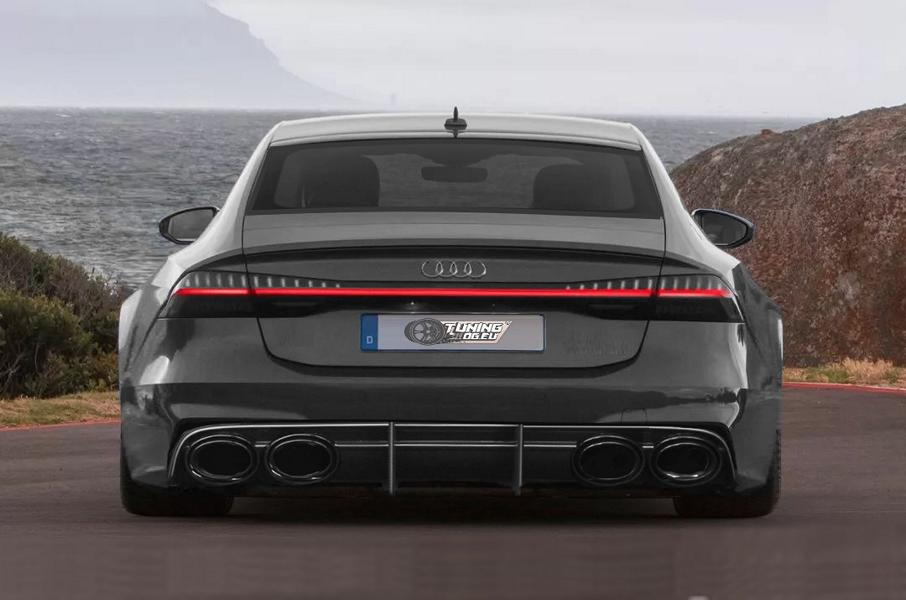 Widebody Audi RS7 4K C8 Modelljahr 2019 Widebody Audi RS7 Modelljahr 2019 by tuningblog.eu