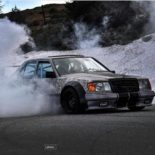 Widebody Mercedes 200E W124 BMW M50 Triebwerk Tuning 10 155x155 Widebody Mercedes 200E (W124) mit BMW M50 Triebwerk