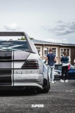 Widebody Mercedes 200E W124 BMW M50 Triebwerk Tuning 19 155x233 Widebody Mercedes 200E (W124) mit BMW M50 Triebwerk