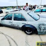 Widebody Mercedes 200E W124 BMW M50 Triebwerk Tuning 2 155x155 Widebody Mercedes 200E (W124) mit BMW M50 Triebwerk