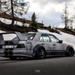 Widebody Mercedes 200E W124 BMW M50 Triebwerk Tuning 4 155x155 Widebody Mercedes 200E (W124) mit BMW M50 Triebwerk