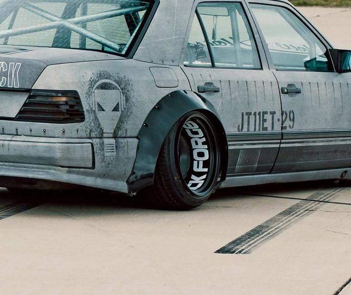 Widebody Mercedes 200E W124 BMW M50 Triebwerk Tuning 7 Widebody Mercedes 200E (W124) mit BMW M50 Triebwerk