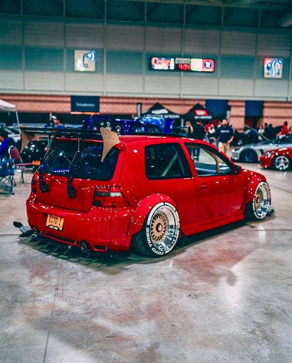 Widebody VW Golf Airlift Tuning R32 BBS R888 Alu's 2 Oberhammer! Widebody VW Golf R32 auf BBS R888 Alu's