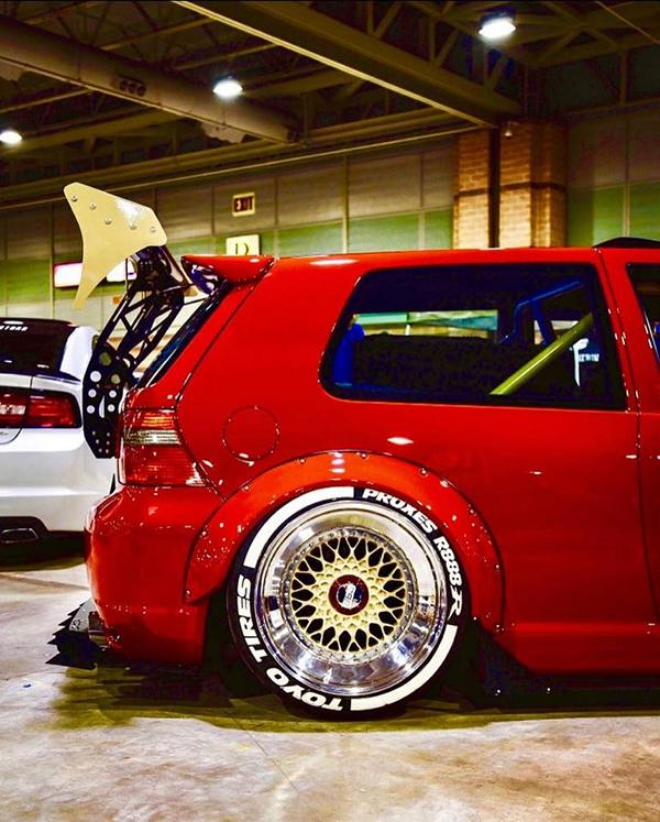 Widebody VW Golf Airlift Tuning R32 BBS R888 Alu's 3 Oberhammer! Widebody VW Golf R32 auf BBS R888 Alu's