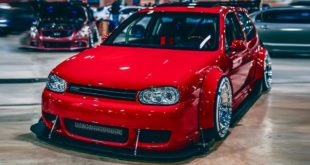 Widebody VW Golf Airlift Tuning R32 BBS R888 Alu%E2%80%99s 310x165 Brutal breit & tief: Clinched Widebody Lexus 2is Limo