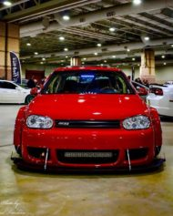 Widebody VW Golf Airlift Tuning R32 BBS R888 Alu's 4 190x237 Oberhammer! Widebody VW Golf R32 auf BBS R888 Alu's