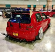 Widebody VW Golf Airlift Tuning R32 BBS R888 Alu's 7 190x181 Oberhammer! Widebody VW Golf R32 auf BBS R888 Alu's