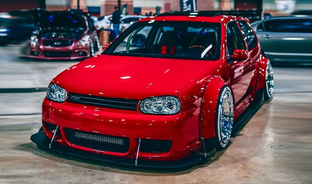Widebody VW Golf Airlift Tuning R32 BBS R888 Alu's Oberhammer! Widebody VW Golf R32 auf BBS R888 Alu's