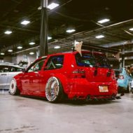 Widebody VW Golf Airlift Tuning R32 BBS R888 Turbofans 2 190x190 Oberhammer! Widebody VW Golf R32 auf BBS R888 Alu's