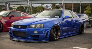 Work Meister S1 Airride Skyline Nissan GT R Tuning 2 310x165 Vollcarbon: Nissan Skyline GT R Widebody by Garage Active