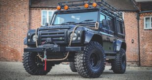 007 Spectre Land Rover Defender Replica 37 Zoll Tuning 5 310x165 Bad Boy   Ford Mustang GT Widebody mit Air lift Airride